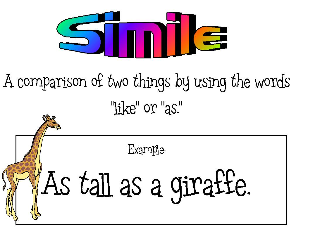 what is certainly simile